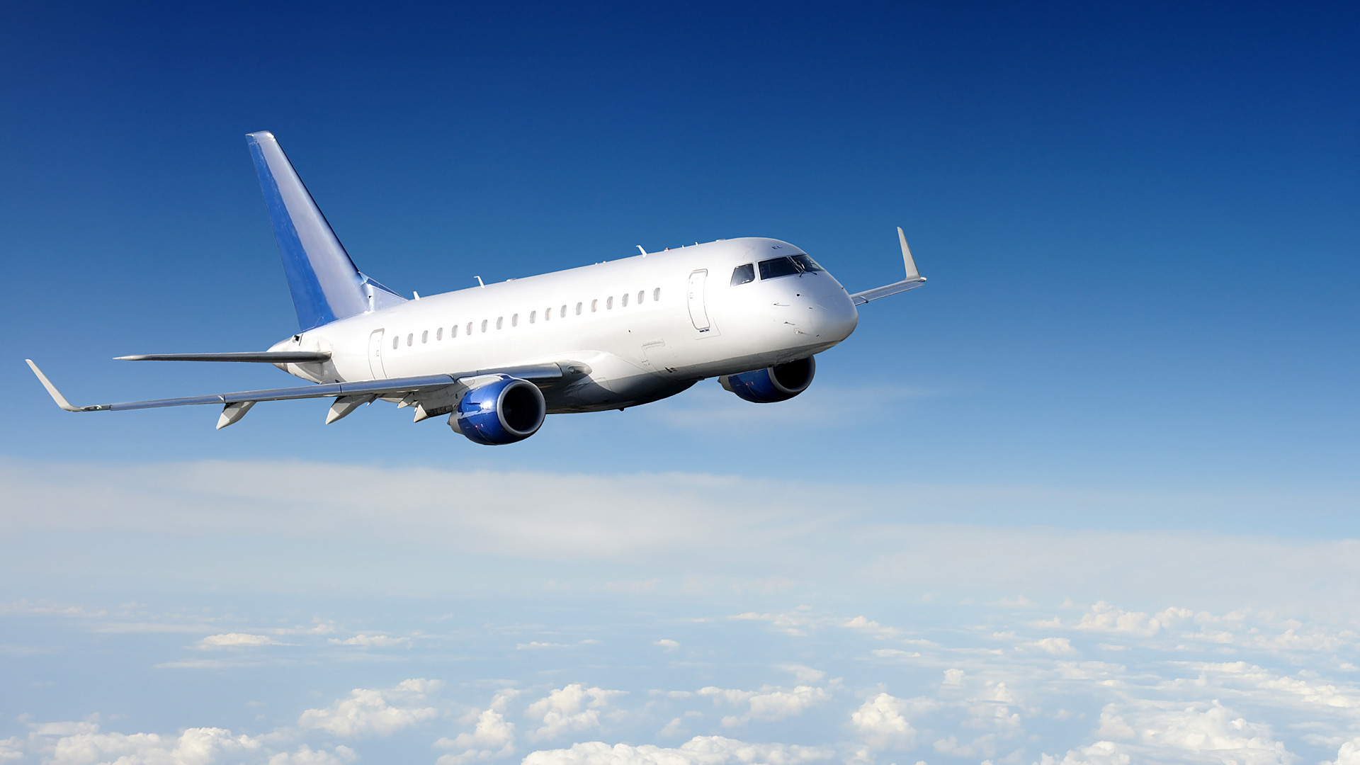 pilgrimages charter aircraft in the sky
