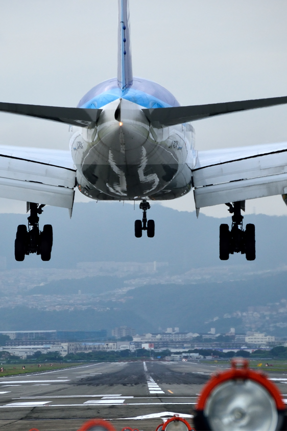 aircraft landing with needed overflight and landing permission