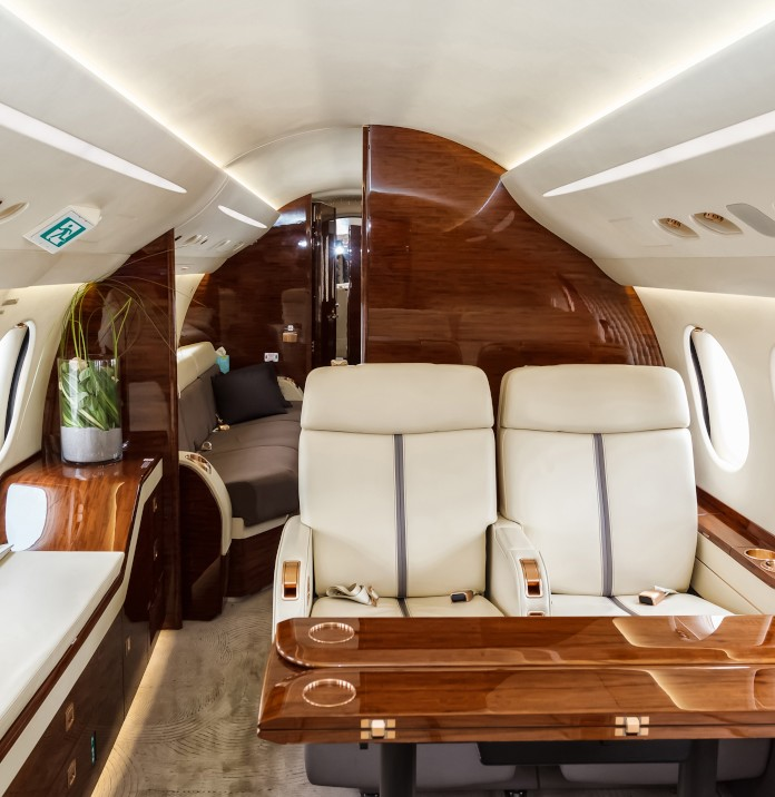 private air charter are better for keeping social distancing in the sky