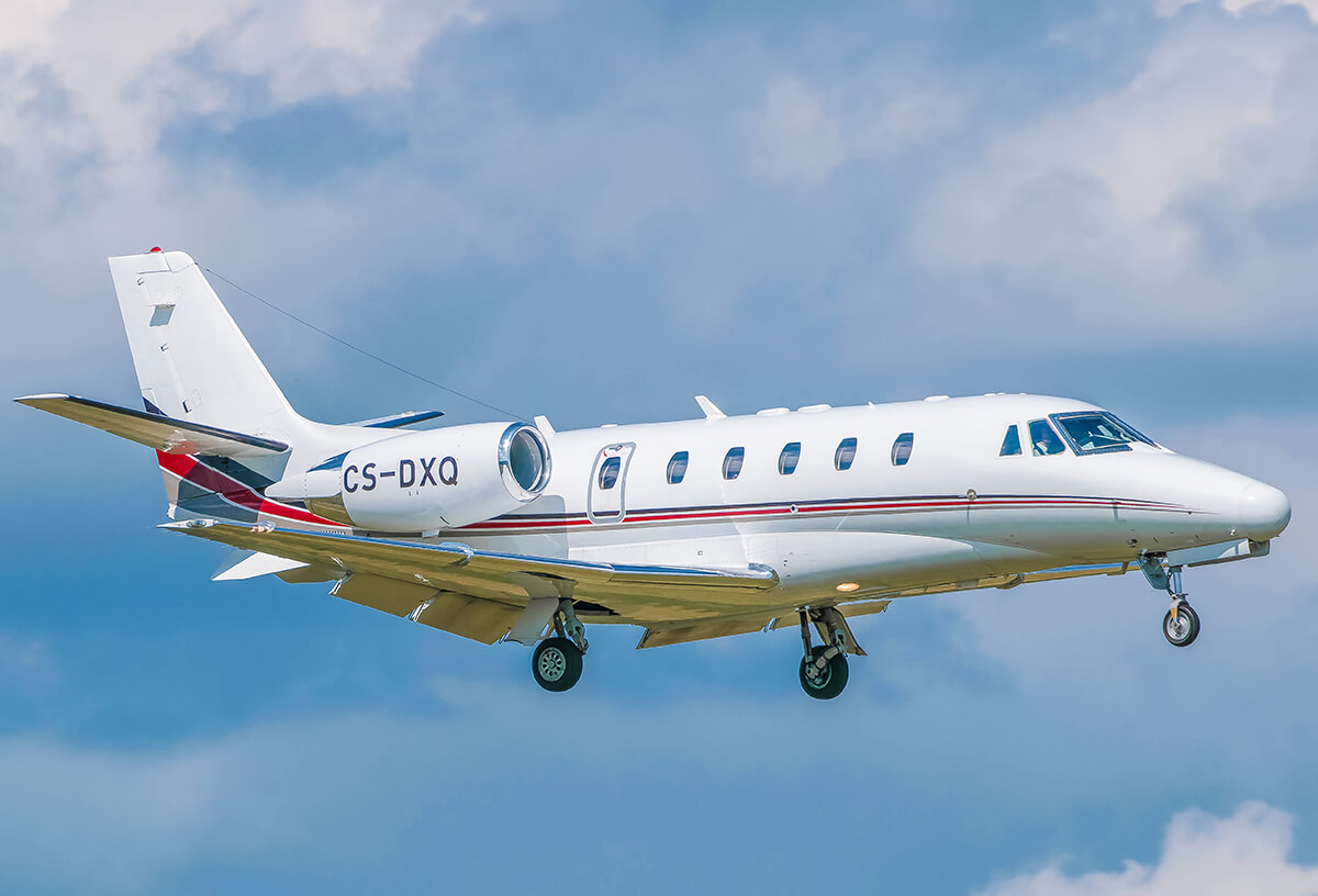 CS DXQ Netjets Cessna 560XL Citation XLS @ BMA T jerkson Flickr 1