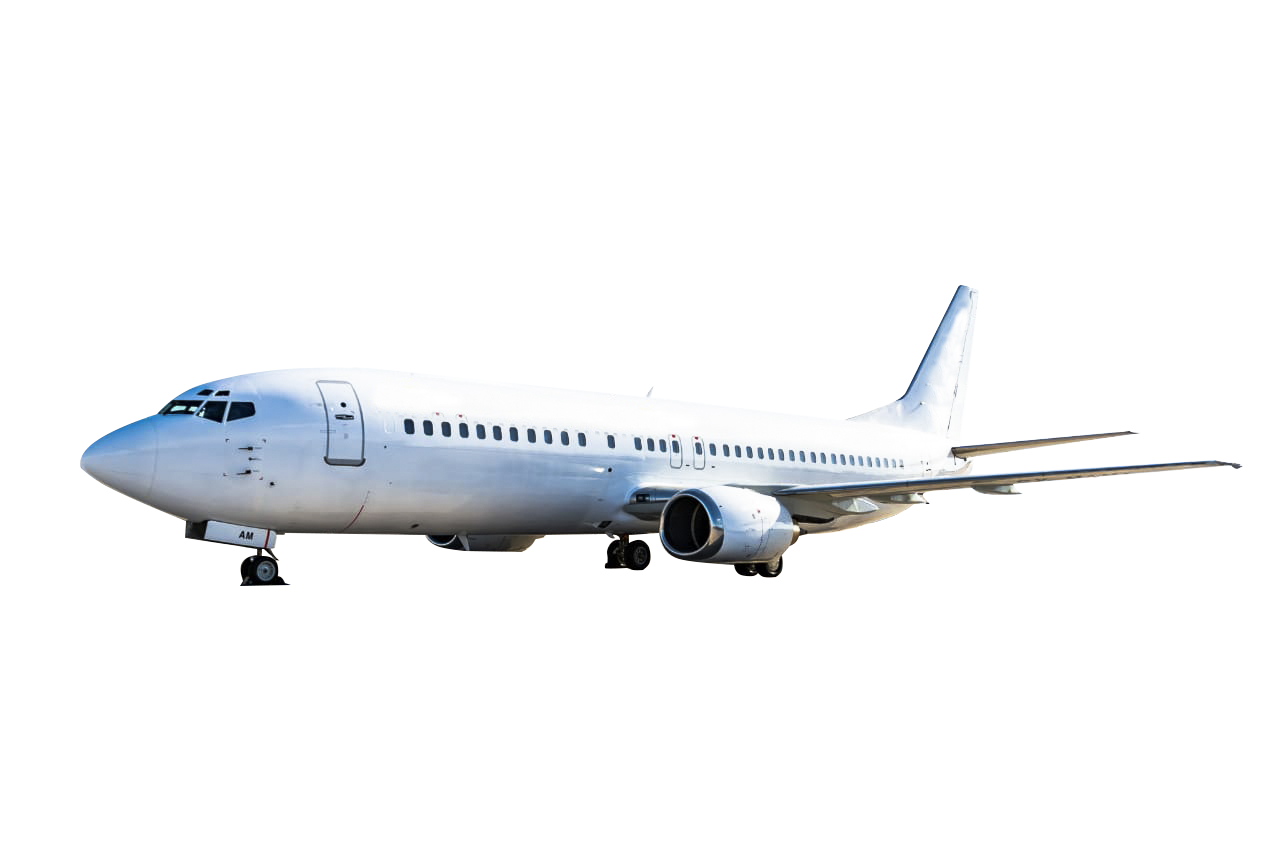 charter commercial flights